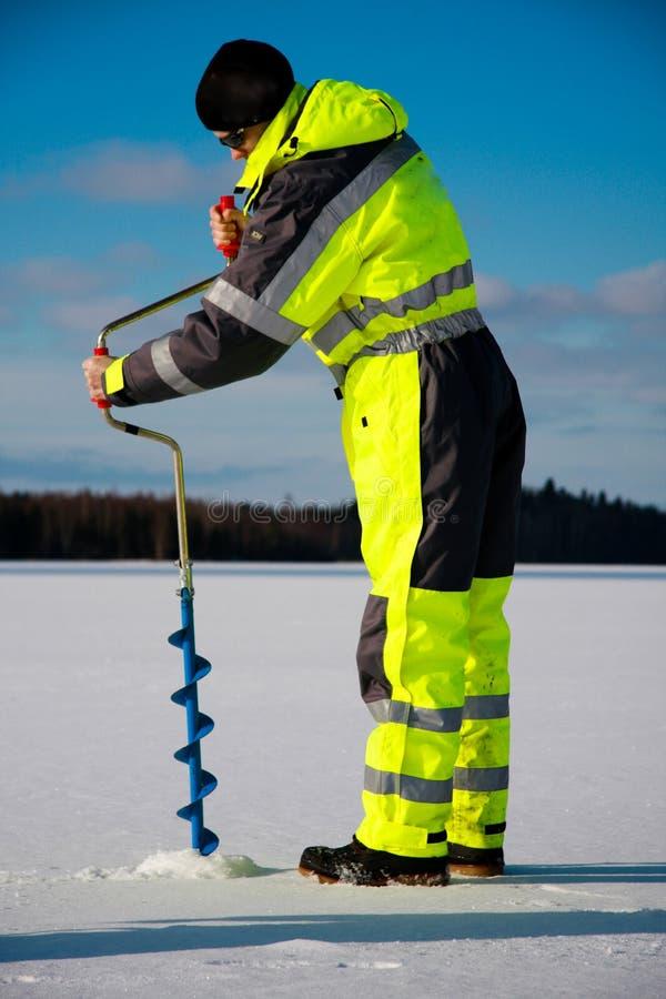 Free Ice Fishing Royalty Free Stock Photo - 8248155