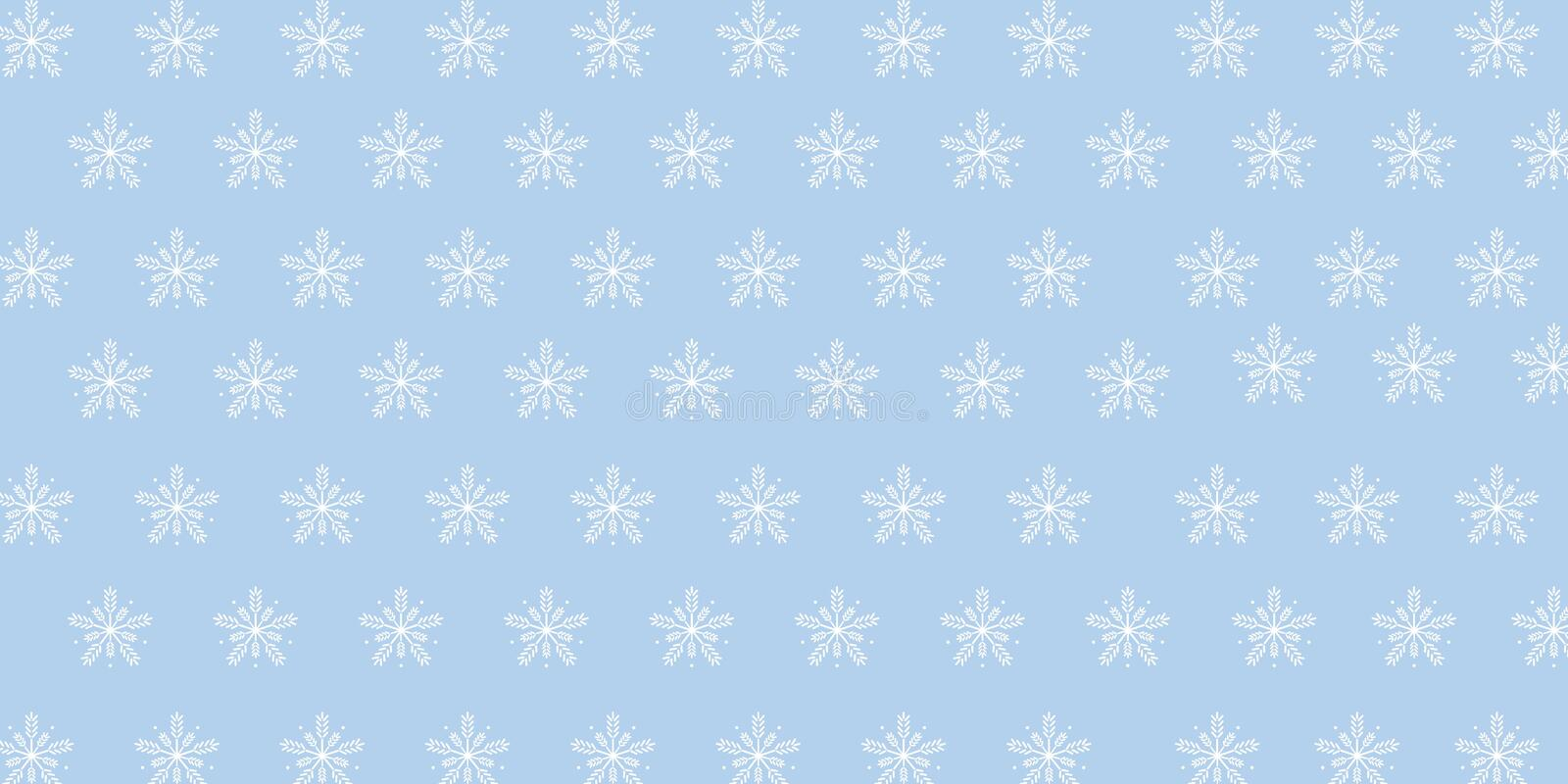 Ice Flakes Background Vector Illustration can use for Winter and Christmas Theme royalty free illustration
