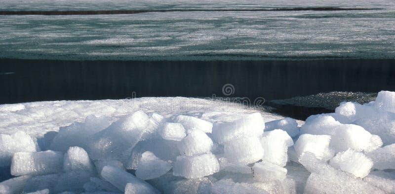 Ice flocs at the svartisenlake, Eisschollen am Svartisensee