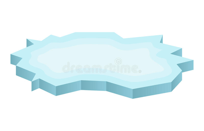 Ice floe icon, symbol, design. Winter vector illustration on white background. Ice floe icon, symbol, design. Winter vector illustration on white background vector illustration