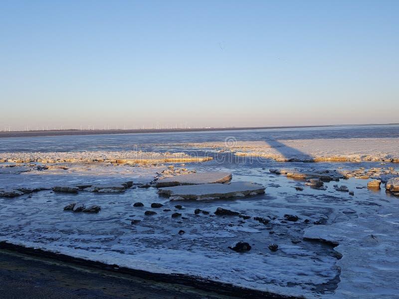Ice floting stock photos