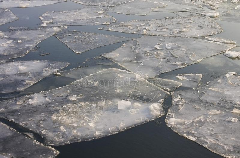 Ice Flow Stock Images
