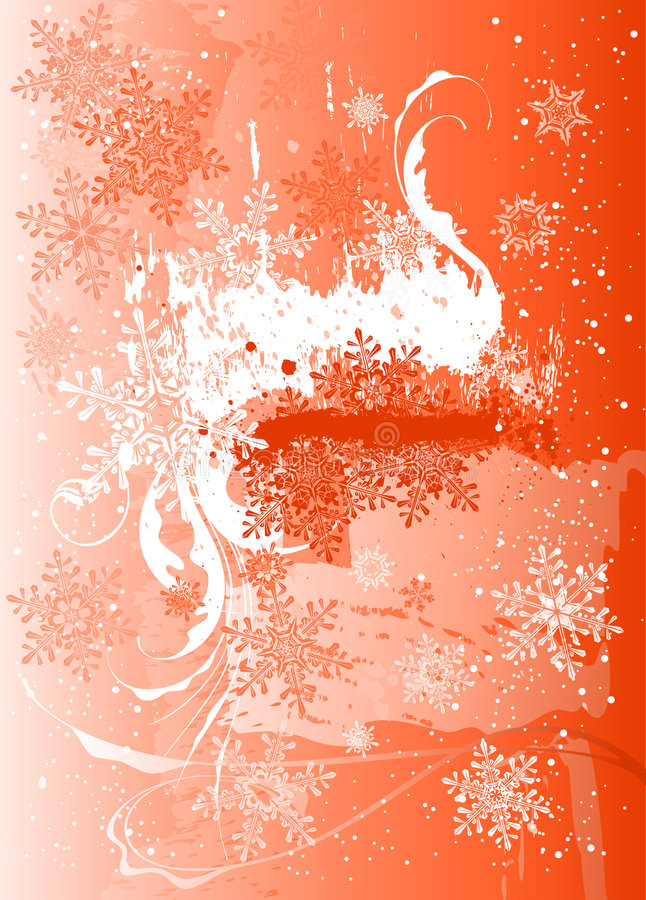 Download Ice, flowers & snowflakes stock vector. Image of merry - 3537849