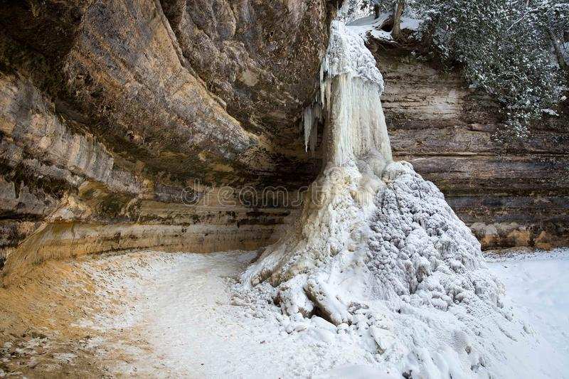 37 Pictured Rocks National Lakeshore Winter Photos Free Royalty Free Stock Photos From Dreamstime