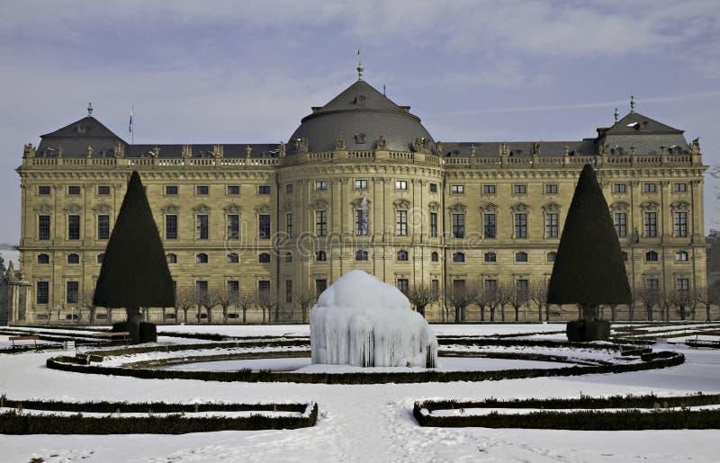 Download Ice Fountain At The Residenz Zu Wuerzburg Stock Photo - Image of unesco, wuerzburg: 13093652