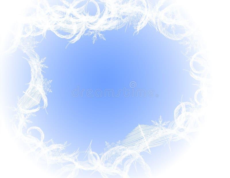 Ice_frame. Illustration. AI file included vector illustration