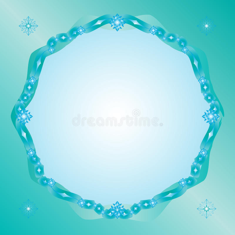 Download Ice framework stock vector. Image of cold, turquoise - 11883736