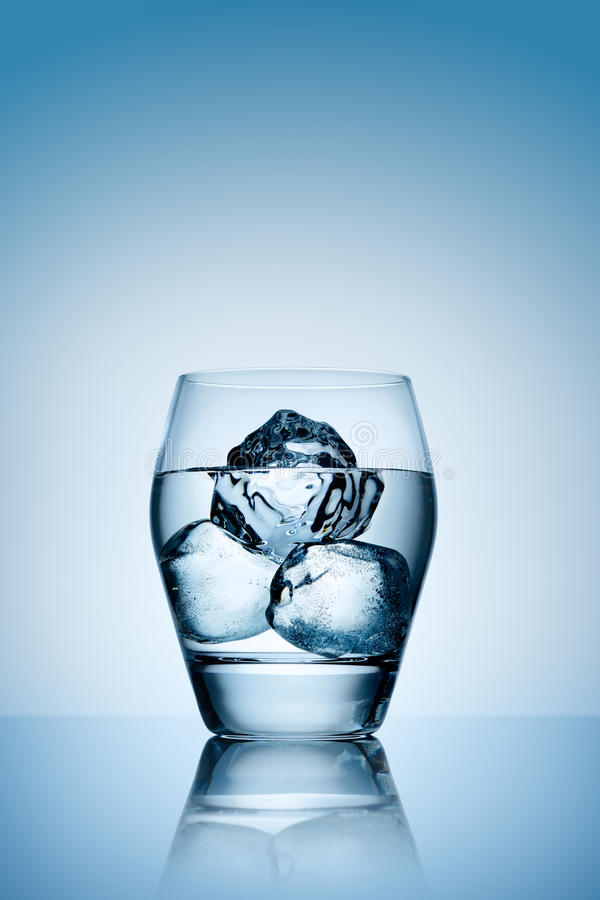 Download The Triad Of Ice Cold Vodka. Royalty Free Stock Images - Image: 24826329