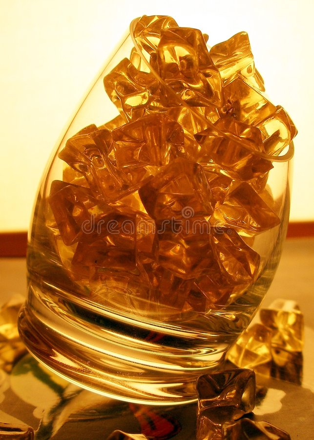Download Ice In Glass - Warm Tones I Stock Image - Image of cool, alcoholic: 145845