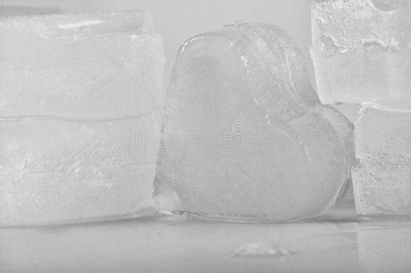 Download Ice heart stock image. Image of heart, frost, purity - 25056077