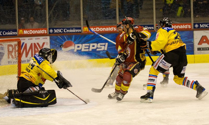 Ice Hockey stock photography