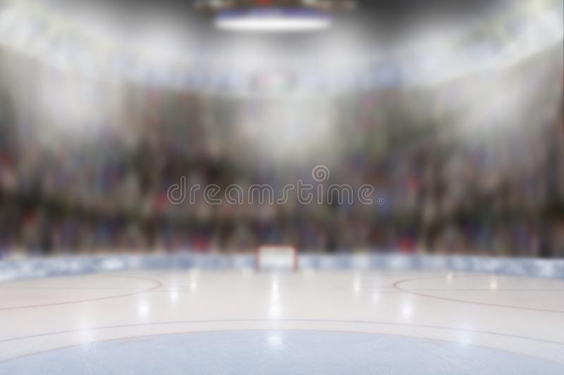 Ice Hockey Arena stock image
