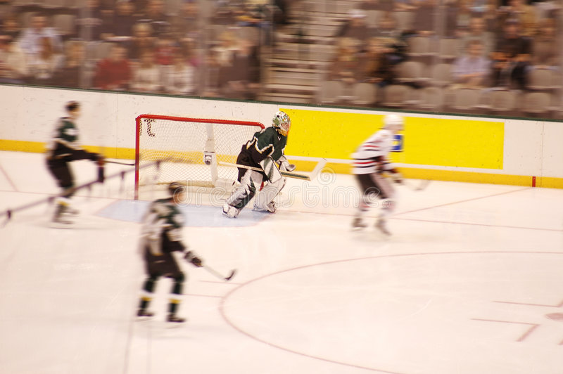 Ice Hockey Blur Royalty Free Stock Photography