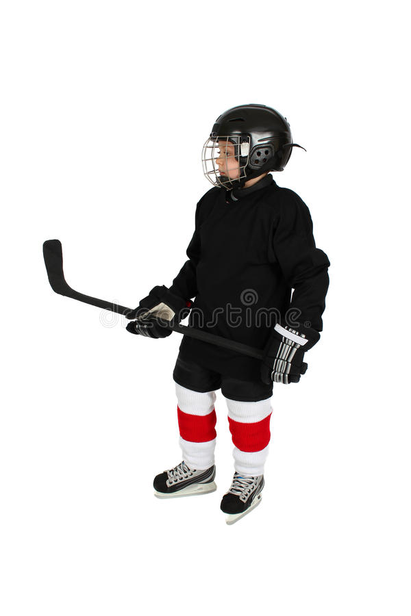 Download Ice Hockey Boy stock image. Image of protection, color - 23370497
