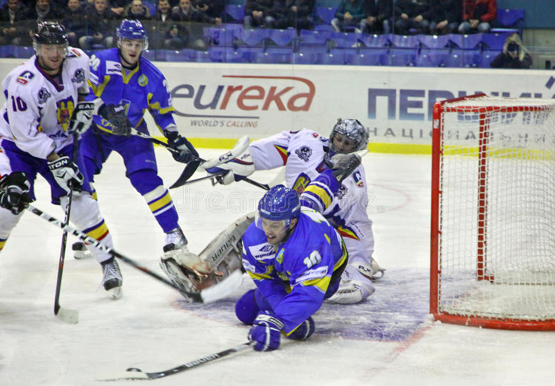 Download Ice-hockey Game Between Ukraine And Romania Editorial Image - Image: 23434490