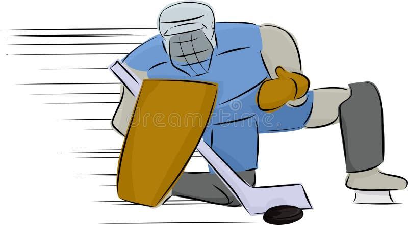 Ice Hockey Goal Keeper