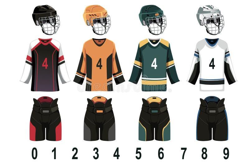 Download Ice hockey jersey stock vector. Illustration of hockey - 25768121