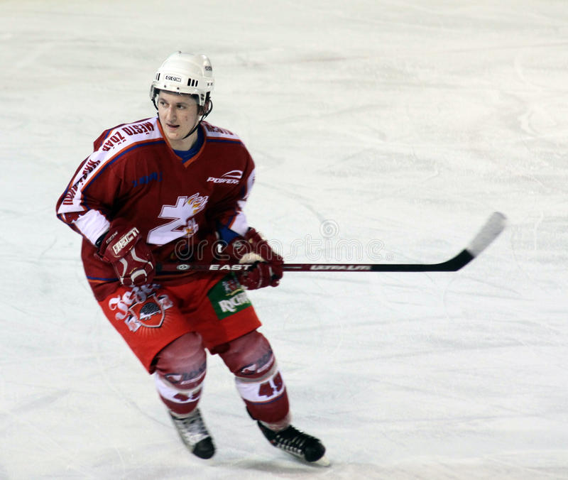 Download Ice hockey player editorial photography. Image of europe - 12358442