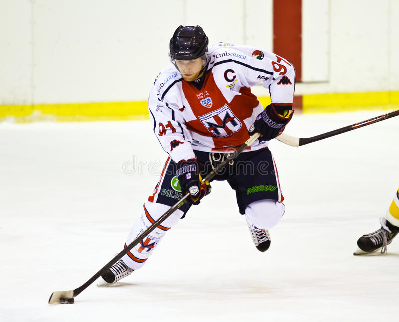 Download Ice hockey player editorial image. Image of center, gear - 37429160