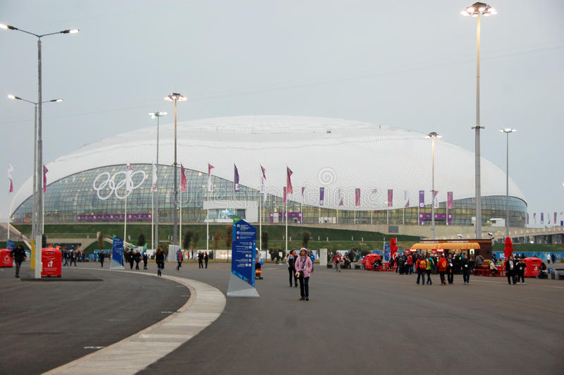 Download Ice Hockey Stadium At XXII Winter Olympic Games Editorial Stock Photo - Image: 38700618