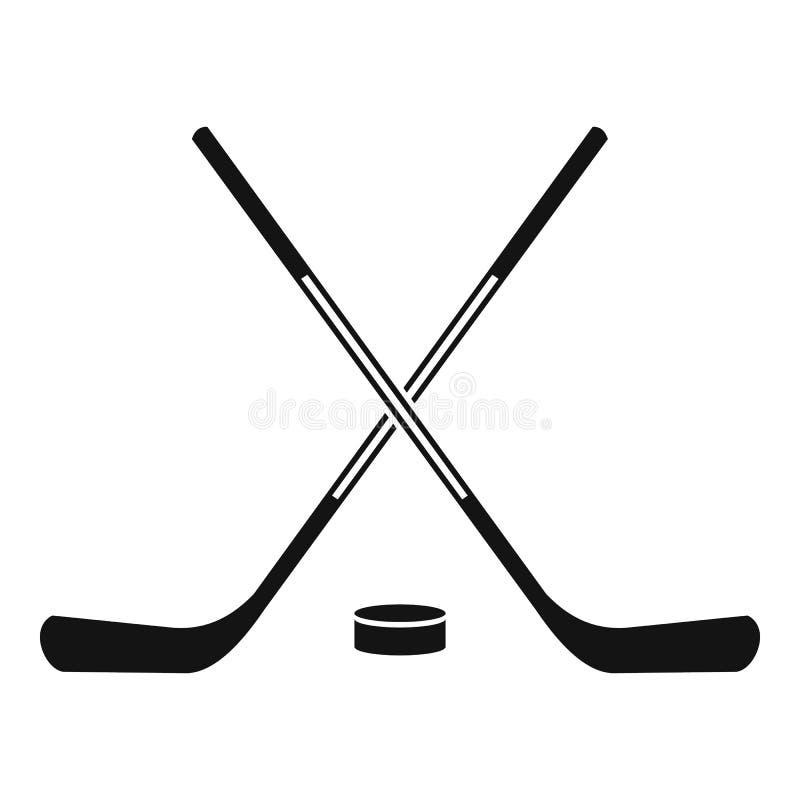 ice hockey sticks icon simple style stock vector illustration of rh dreamstime com hockey stick vector image hockey stick vector image