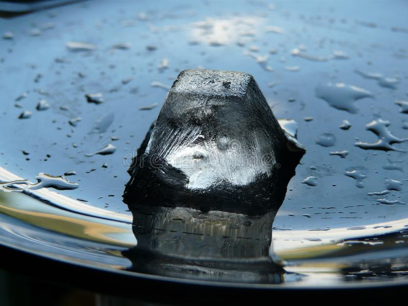 Ice in hot summer days royalty free stock photos