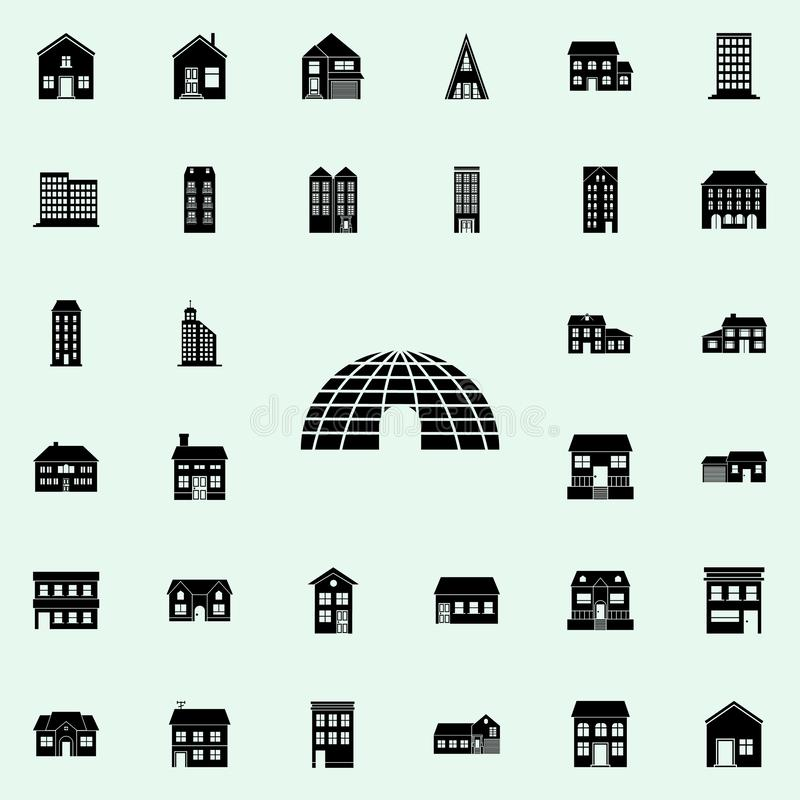 ice house icon. house icons universal set for web and mobile vector illustration