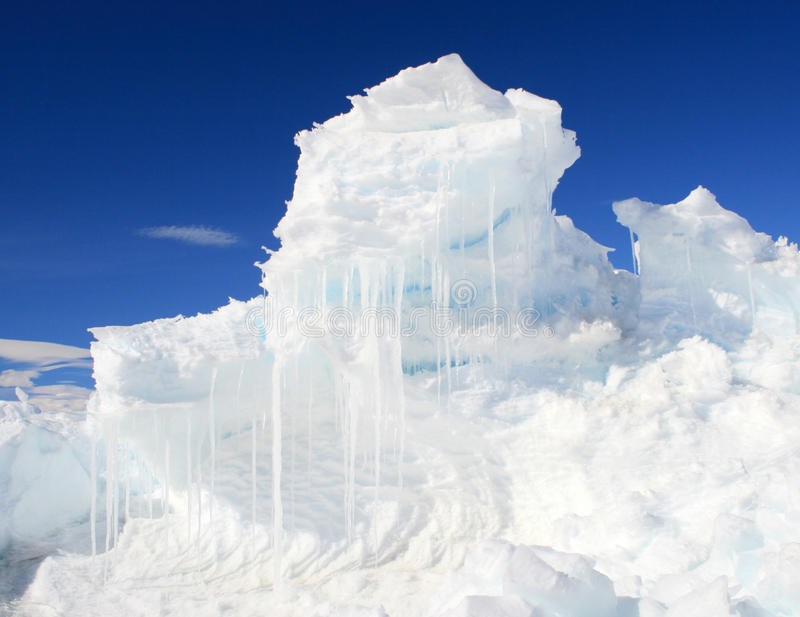 Download An ice hummock stock image. Image of hump, field, antarctic - 13857763