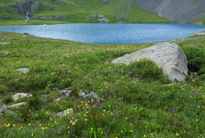 Download Ice Lake In San Juan Mountains In Colorado Stock Photography - Image: 10543692