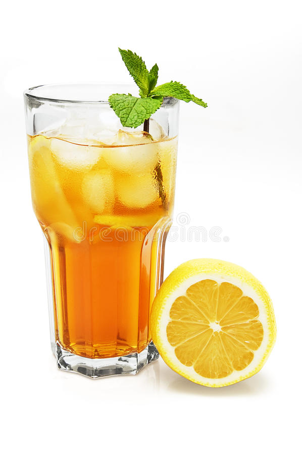 Download Ice Lemon Tea Stock Photography - Image: 19835802