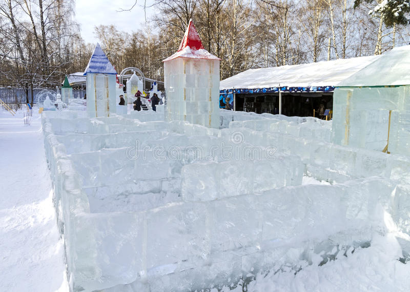 Download Ice maze editorial image. Image of figure, maze, tower - 49518305