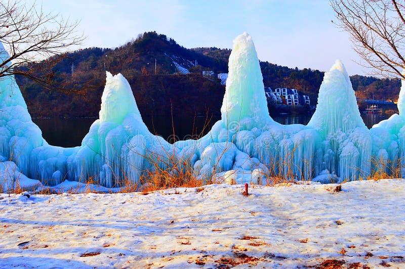 Ice Mountains royalty free stock photo