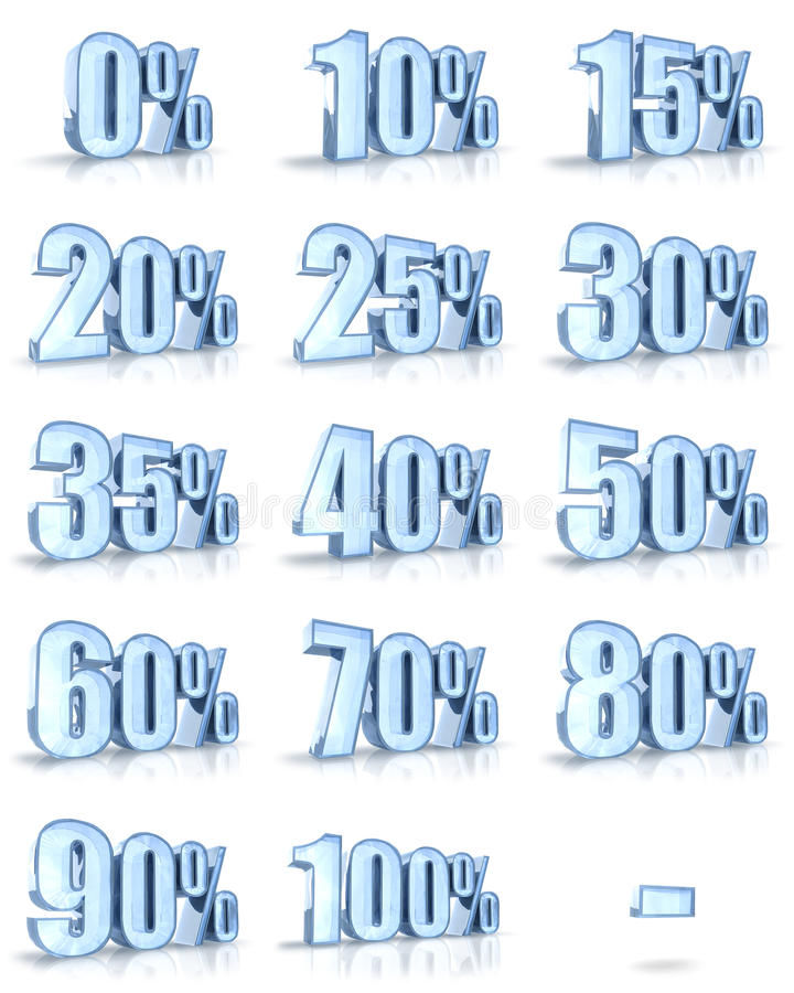 Download Ice Percent Tags stock illustration. Illustration of message - 13892755