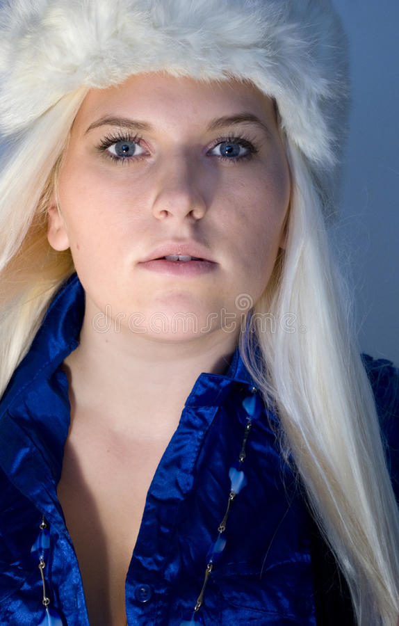 Download Ice queen stock image. Image of blond, portrait, beautiful - 21610249