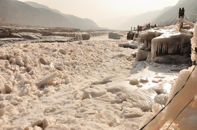 Download Ice river stock image. Image of freeze, outdoors, morning - 24090023
