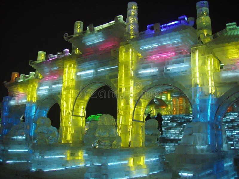 Ice sculpture stock photos
