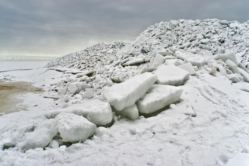 Download Ice sea at the coast stock photo. Image of winter, grey - 19113744