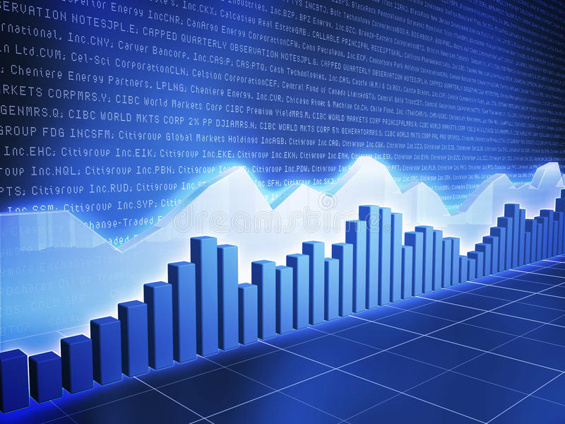 Download Ice Series Stock Chart With Random Data Stock Illustration - Image: 12458320