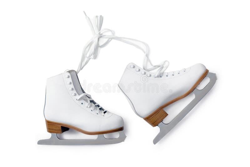Ice skate stock photo