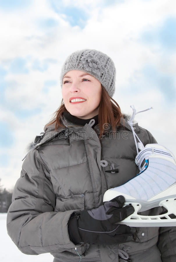 Ice skate stock photos