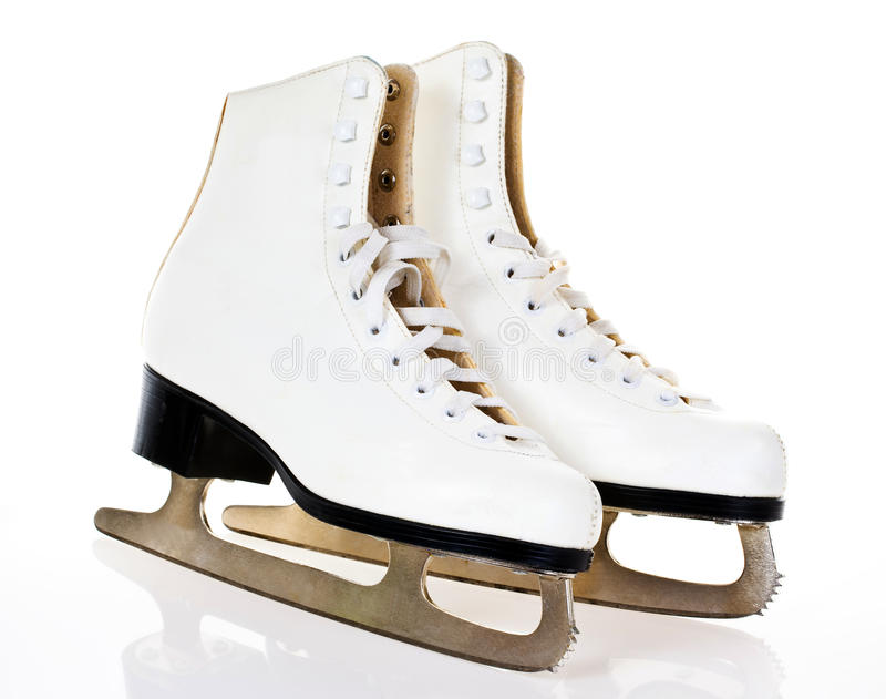 Ice skates royalty free stock image