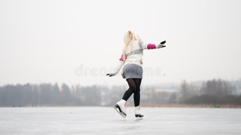 Ice Skating royalty free stock photography