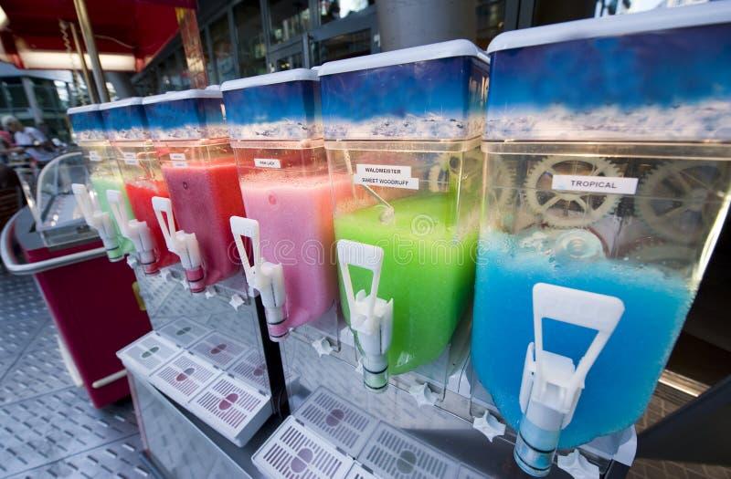 ice slush machine stock image