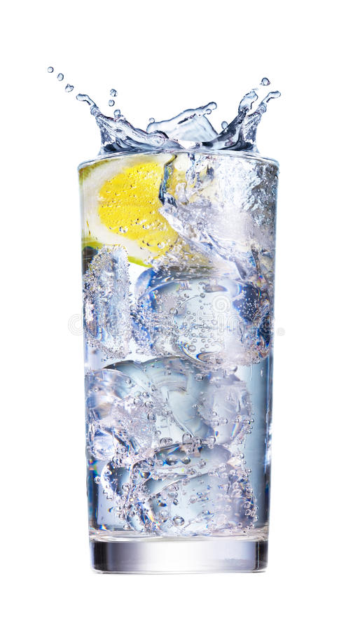 Download Ice Splashing In Cup Of Water Stock Photo - Image of color, overflowing: 9946518