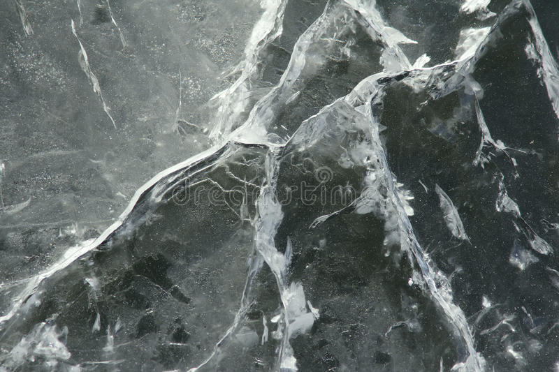 Ice surface. The background of ice surface stock image