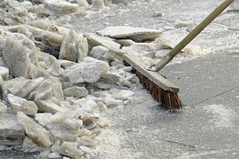 Download Ice is swept away stock image. Image of chunks, winter - 16675175