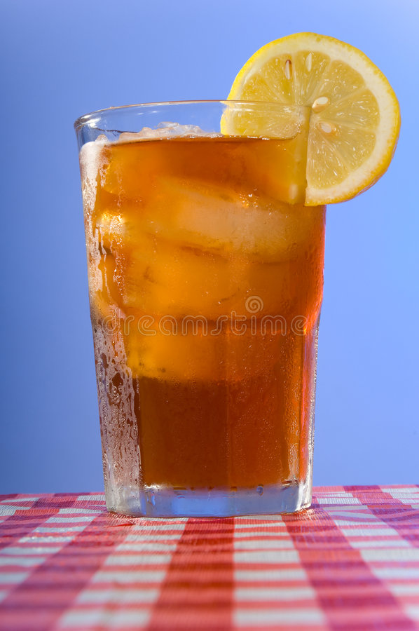 Download Ice tea on the table stock photo. Image of slice, delicious - 3018356