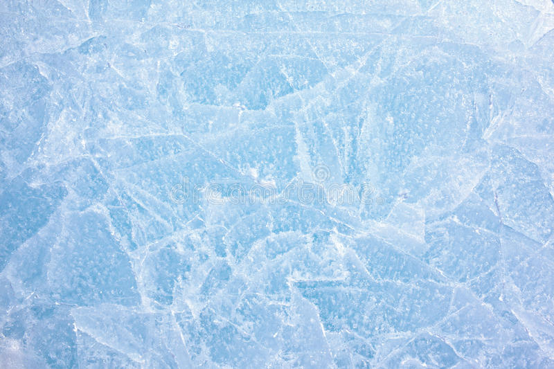 Ice texture. Texture of ice of Baikal lake in Siberia royalty free stock image