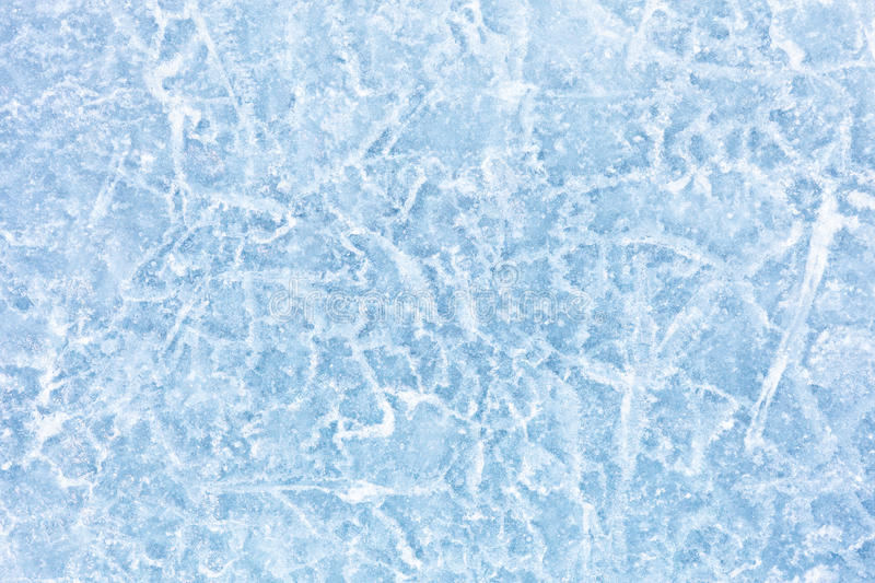 Ice texture. Texture of ice of Baikal lake in Siberia stock image