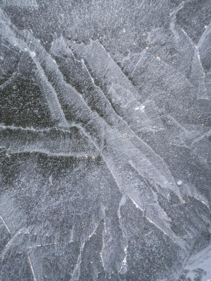Ice texture, winter background royalty free stock image